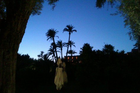 la mamounia at night