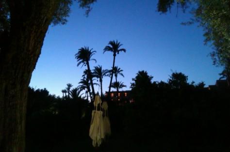 la mamounia at night