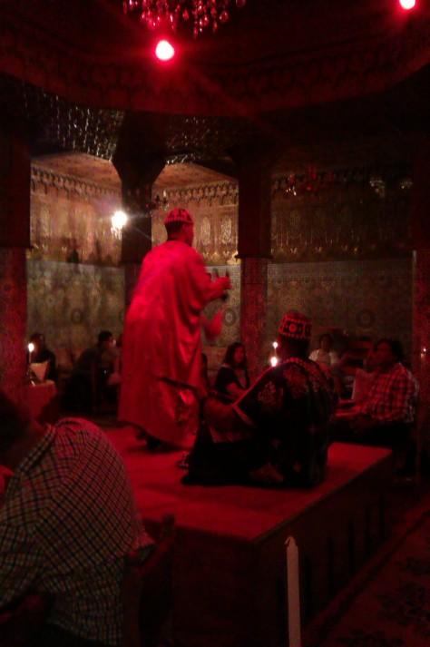 Berber dancing