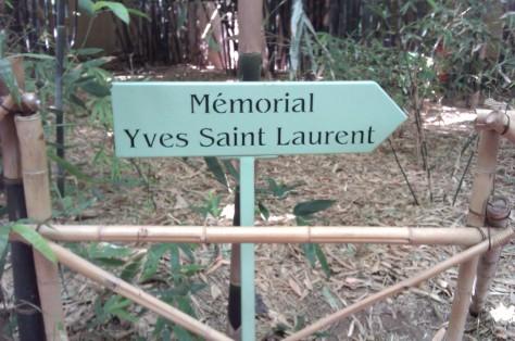 memorial yves saint laurent