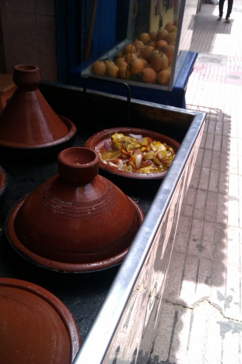 tagines cooking in essaouira morocco